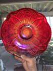 Large Indiana Carnival Red Sunset Bowl