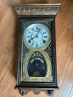 Sessions Antique 8 Day Regulator Wall Clock
