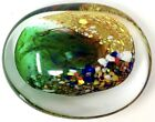 VINTAGE ART GLASS Paperweight Very Unusual Shape 5x 4x 1 3 4