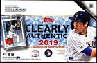2019 Topps Clearly Authentic Baseball Factory Sealed Hobby Box