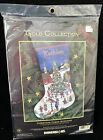 Dimensions Gold Collection Christmas Cheer Stocking Kit 8615 Cross Stitch NEW