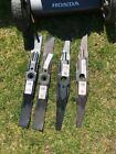 LOT 2 Sets of OEM Honda 21 Mulching Blades Double Sided Twin Lawn Mower Blades