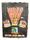 1983 Topps VIDEO CITY Trading Card Game Sticker Wax Box 36 Sealed Wax Packs Rare