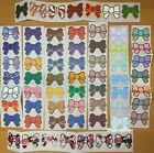 Simply Gilded Vintage Assorted Bow Stickers 9 STRIPS really freakin rare