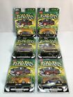 Jada Toys ROAD RATS CARS 164 Scale Diecast NEW FACTORY SEALED 2003 Lot Of 6