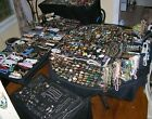 HUGE LOT VINTAGE TO NOW COSTUME  SILVER 925 JEWELRY 50 POUNDS ALL WEARABLE