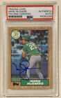 Mark McGwire Cards, Rookie Card and Autographed Memorabilia Guide 47