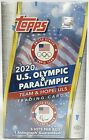 2021 TOPPS US OLYMPICS & PARALYMPIC - FACTORY SEALED HOBBY BOX - FREE S H - QTY