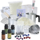 DIY Candle Making Kit Supplies Full Beginners Set Soy Wax Dyes Scents Pot