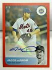 Jacob deGrom 2019 Topps On Demand Reflection #10B-A - RED Autograph Auto #'d 5 5
