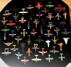 WOW 52 Piece Lot of MATCHBOX MAISTO DISNEY Diecast Planes Helicopters Jets