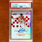 Yao Ming 2002-03 Topps Finest Rookie Autograph Refractor Auto RC 250 PSA 7 HOF