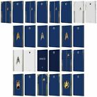 STAR TREK DISCOVERY UNIFORMS LEATHER BOOK CASE FOR SAMSUNG GALAXY TABLETS
