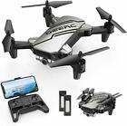 DEERC D20 Mini Drone for Kids with 720P HD FPV Camera Foldable RC Quarcopter