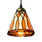 Tiffany Style Stained Glass Shade Pendant Light Vintage Ceiling Lamp Fixture