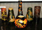 Vintage Art Glass Signed Galle Six Pieces