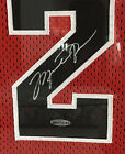 Michael Jordan Autographed Signed Framed Chicago Bulls Jersey UDA Authenticated
