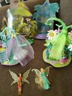 Disney Fairies Tinker Bell Canopy Lounge Bed Play Toy Set Playmates 2006 lot