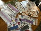 New Creative Memories Huge Lot Sticker Packs Die Cuts Floral Sports Fall Holiday