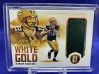 2021 Gold Standard Aaron Rodgers WG AR White Gold Jersey Relic 118 199 Packers
