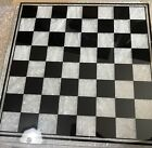 NIB Glass checker chest board  Only The Board High Quality