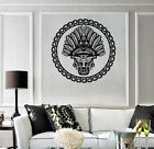 Vinyl Decal Wall Sticker Native Ancient Ceremony Mask Mayan Aztec n1496