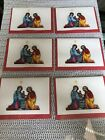 Quilling Card 3 D Christmas NATIVITY SCENE BOXED NOTE CARDS SET Of 6 5x 35