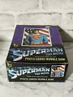 Superman The Movie Topps Photo Cards Complete Wax Box w 36 Sealed Packs 1978