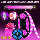 USB Grow Lights LED Strip Grow Lamp Hydroponic Dimmable Indoor Plant Flowers Veg