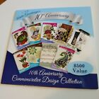 Anita Goodesign 10th Anniversary Embroidery Machine Design CD 9 Collections