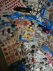 VERY VERY LARGE LOT OF MOSTLY DISNEY SCRAPBOOKING STICKERS AND EMBELLISHMENTS