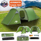 4 5 Person Camping Tent Waterproof Family Backpack Hiking Dome Tent Double Layer