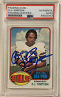 O.J. Simpson Cards, Rookie Card and Autographed Memorabilia Guide 40