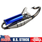 Scooter Moped Performance Exhaust System Muffler Pipe Racing For Yamaha JOG 50CC