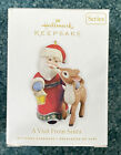 Hallmark Ornament A Visit From Santa 2nd in Series 2010 NEW IN BOX