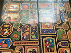 2012 Graphic 45 Happy Haunting Tags 1  2 Chipboard Halloween NEW