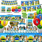 Bluey Party Favor Supplies Birthday Decorations Include Banner