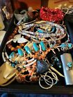 Large Lot Vintage Native American Southwestern Jewelry Wow