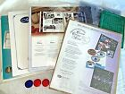Creative Memories 12 x 12 White  Family Tree Scrapbook Pages + Cutting Mats