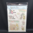 House Mouse + Friends CHRISTMAS Clear Stamps The Paper Studio 2006 Retired NOS