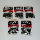 Lot of 5 NOS Vintage Black Photo Mounting Corners NUACE 1400+
