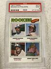 1977 Topps Rookie Outfielder Andre Dawson #473 PSA 9 Mint Expos HOF RC 473
