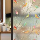 Lifetree Privacy Window Film Frosted Strength Glass Stained Static Cling Glue 3d