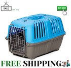 Pet Carrier Hard Sided Dog Carrier Cat Carrier Small Animal Carrier in Blue