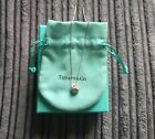 Tiffany  Co Sterling Silver Twist Knot Pendant 16 inches Necklace