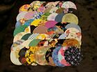 Die Cut Cotton Fabric Circles for Quilting or Applique