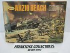 1968 Aurora Anzio Beach Model Kit Many Pieces not punched Made In USA