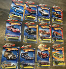 12 Hot Wheels Keys To Speed Key Chains Die cast Mixed Lot