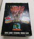 1983 VIDEO CITY Trading Card Game Sticker Wax Box 36 Sealed Wax Packs Rare Topps