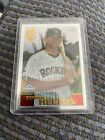 Todd Helton Cards, Rookie Card and Autographed Memorabilia Guide 20